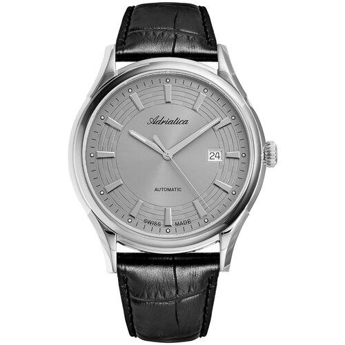 Фото - Часы наручные швейцарские мужские Adriatica A2804.5217A мужские часы adriatica a1246 5217q
