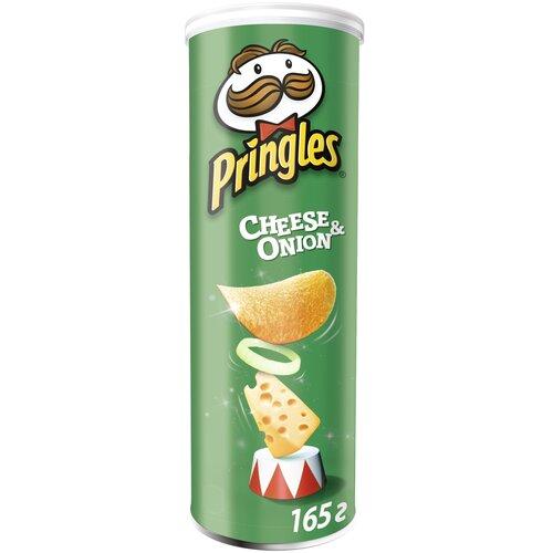Чипсы Pringles картофельные Cheese & onion, 165 г чипсы pringles картофельные spring onion 165 г