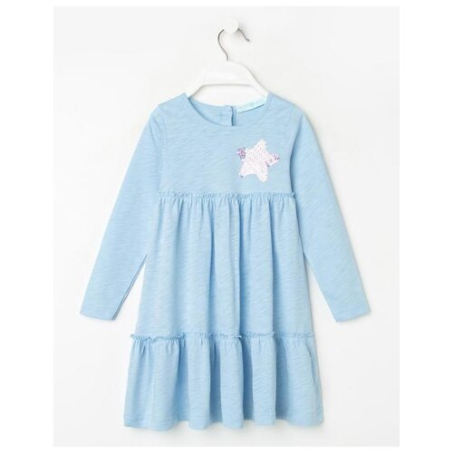 Платье Kaftan размер 110-116, голубой
