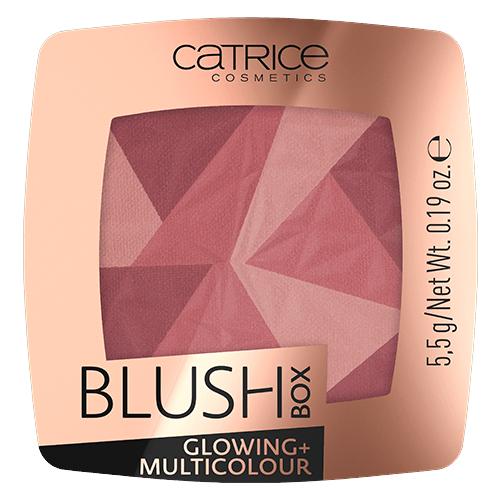 CATRICE Blush Box Glowing + Multicolour румяна 020 it´s wine o´clock