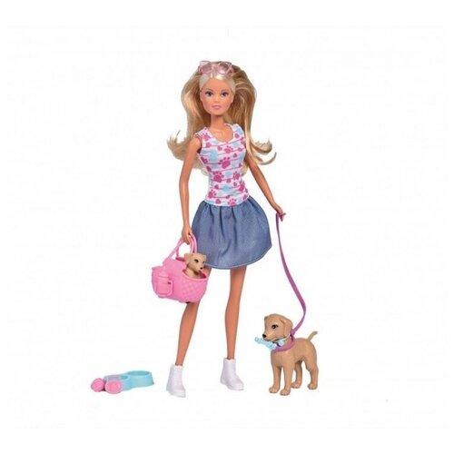 Кукла Steffi Love Штеффи с питомцами, 29 см, 5733310 недорого
