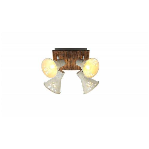 Rivoli 7012-704 Rivoli Спот Cansaro W4 никель сатин E14*4 40W (6/84)
