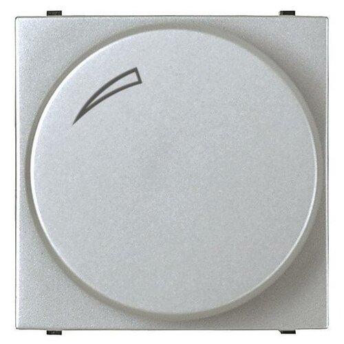 Диммер поворотный ABB Zenit серебро 2CLA226020N1301 рукоятка для силовых выключателей разъединителей abb 1sca108690r1001