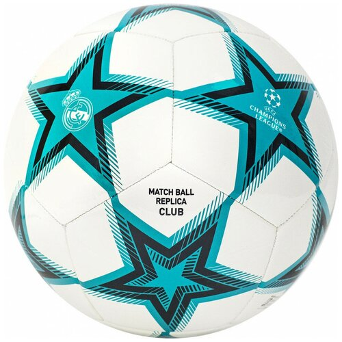 Мяч футбольный ADIDAS UCL RM Club Ps арт. GU0204, р.5