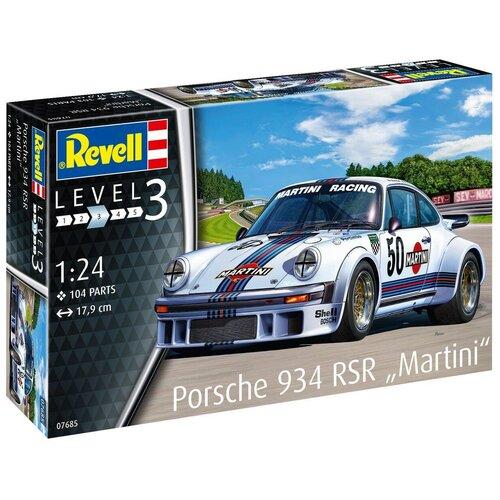 Сборная модель Автомобиль Porsche 934 RSR «Martini»