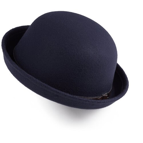 Фото - Шляпа Лондонский туман Nothing Shop (темно-синий; коричневый; серебристый) 54-56 см плейсмат nothing shop темно синий горчичный