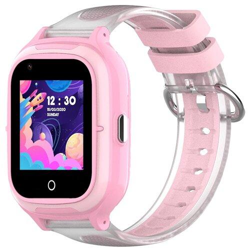 Детские умные часы Wonlex KT23 4G, розовый