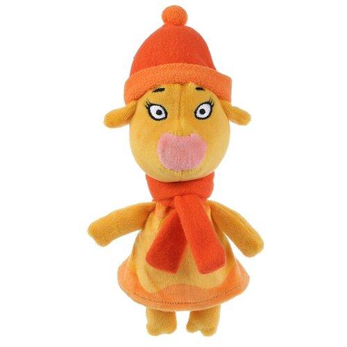 Купить Игрушка мягкая Мульти-пульти Союзмультфильм, Оранжевая корова , Зо, зимняя одежда, 21 см (V92729-21A), Мульти-Пульти, Мягкие игрушки