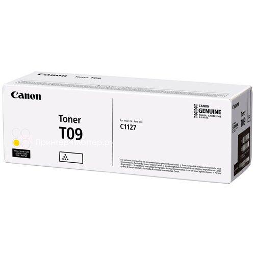 Фото - Тонер-картридж Canon T09 Y (3017C006) тонер картридж canon t04 b 2980c001