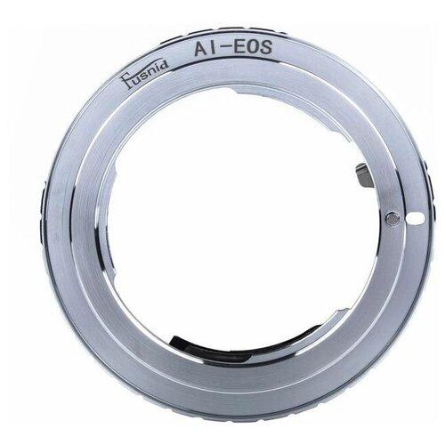 Фото - Переходное кольцо FUSNID c чипом 9 поколения с байонета Nikon на Canon (AI-EOS) переходное кольцо dofa с байонета pk на micro 4 3 pk m43
