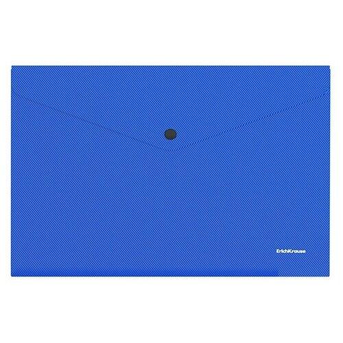 Папка-конверт на кнопке пластиковая Diagonal Vivid, непрозрачная, A4, ассорти недорого