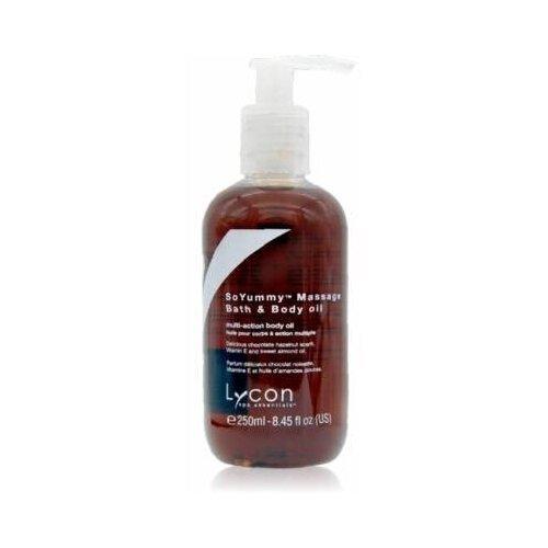 Купить Lycon Масло So Yummy Massage & Bath Oil для Ванны и Массажа с Витамином Е и Маслами Какао и Сладкого Миндаля, 250 мл