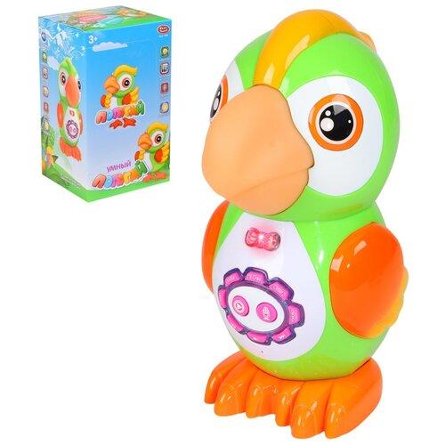 Купить Игрушка детская развивающая Попугай PLAY SMART, на батарейках, стихи, песенки, сказки, скороговорки, функция записи, развивающая игрушка для малышей, интерактивная, в/к 27х14, 5х16, Развивающие игрушки