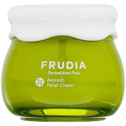 Купить Frudia Avocado Relief Cream Восстанавливающий крем для лица с экстрактом авокадо, 55 г