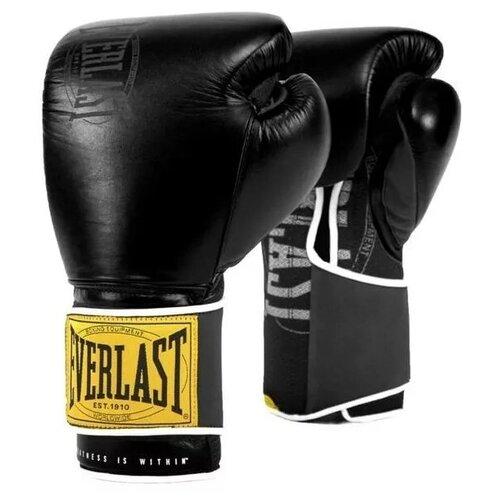 Перчатки тренировочные Everlast 1910 Classic 12oz черн.