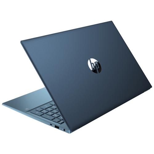 """Ноутбук HP Pavilion 15-eg0099ur (Intel Core i3 1125G4/156""""/1920x1080/8GB/512GB SSD/Intel UHD Graphics/Windows 10 Home) 3B2V3EA сине-зеленый"""