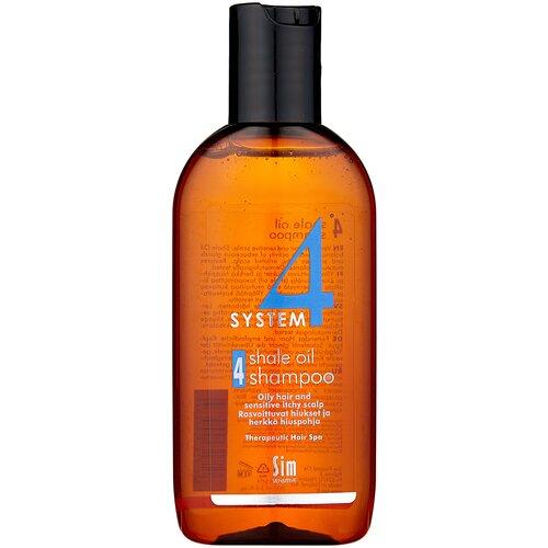 Купить Sim Sensitive SYSTEM 4 Shale Oil Shampoo 4 Терапевтический шампунь № 4 для очень жирной, чувствительной и раздраженной кожи головы, 100 мл