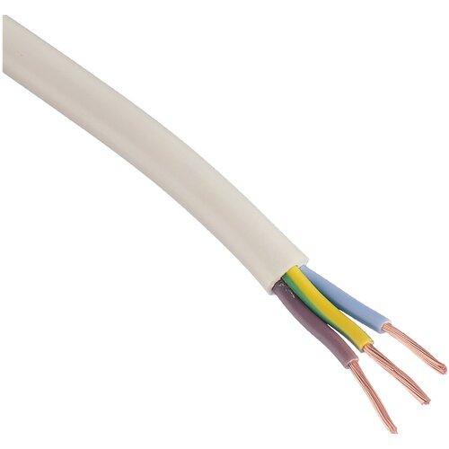 Провод ПВС 3х2.5 кв. мм (20 м) Пан Электрик ГОСТ белый 20 м катушка