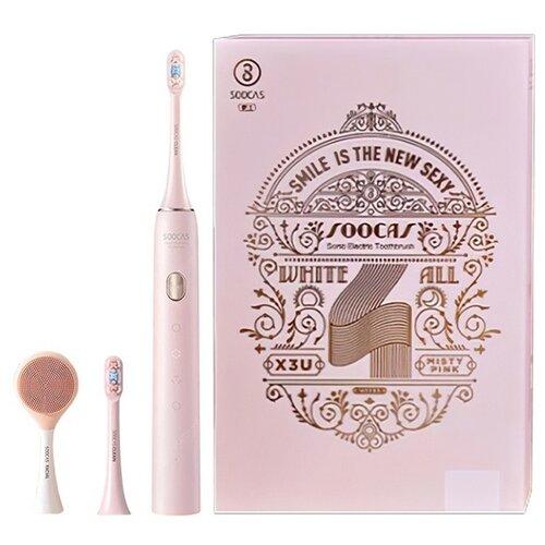 Звуковая зубная щетка Soocas X3U Set pink