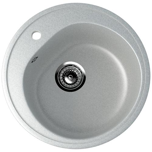 Фото - Врезная кухонная мойка 50 см EcoStone ES-11 310 серый врезная кухонная мойка 103 см ecostone es 29 308 черный