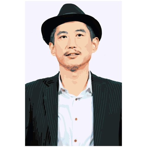 Купить Картина по номерам Ким Вон Хэ, 90 х 120 см, Красиво Красим, Картины по номерам и контурам