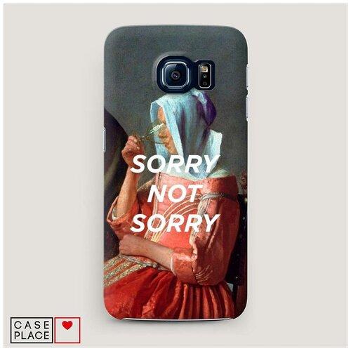 Чехол Пластиковый Samsung Galaxy S7 Sorry not sorry