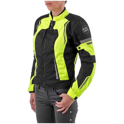 Текстильная куртка Moteq Taffy черный/желтый XS (Размер производителя)