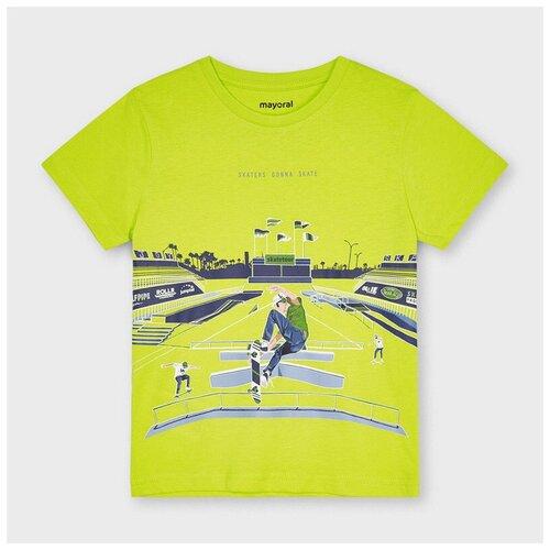 Футболка Mayoral, размер 6(116), 055 lemongrass футболка mayoral размер 6 116 голубой
