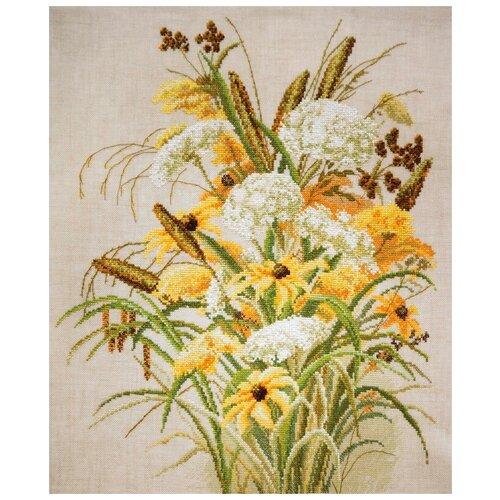 Набор для вышивания Осеннее обаяние по картине Эллин Фишер 35 х 45 см марья искусница 06.002.25