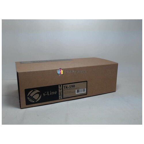 Картридж Bulat s-Line для Kyocera Mita FS-C5250, C2026, C2126 (7000 стр.) Black TK-590K с чипом