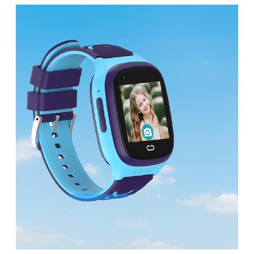 Детские умные смарт-часы Smart Baby Watch LT31E 4G с поддержкой Wi-Fi и GPS, HD камера, SIM card (Голубой) детские умные часы телефон с gps smart baby watch df25 голубые