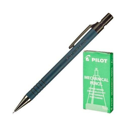 Купить Карандаш механический Pilot 0.5 мм синий 2 шт., Механические карандаши и грифели
