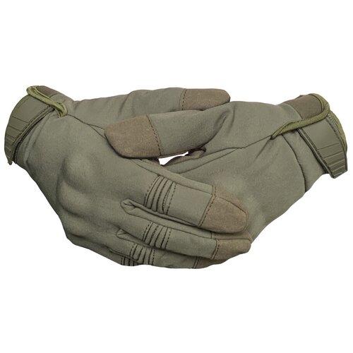 Зимние тактические перчатки олива, XL