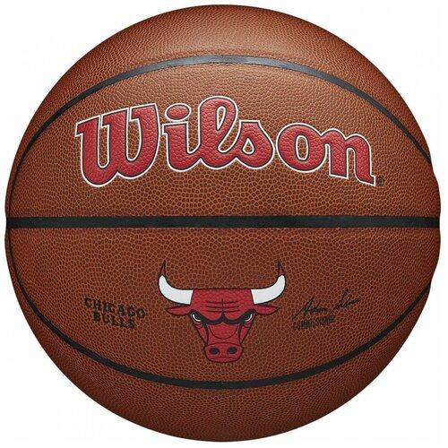 Мяч баскетбольный WILSON NBA Chicago Bulls WTB3100XBCHI р.7