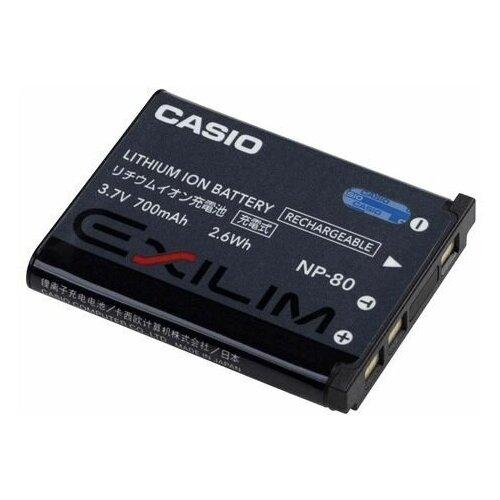 Фото - Аккумулятор Casio Exilim NP 80 для Casio EX-ZS150, ZS6, N1, N20, JE10, H60 аккумулятор для фотоаппарата casio np 60