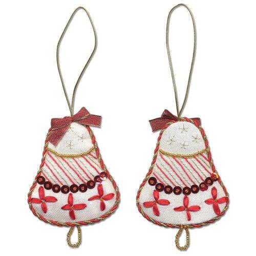 Купить Набор для вышивания PANNA Новогодняя игрушка, Колокольчик (IG-1271), Наборы для вышивания