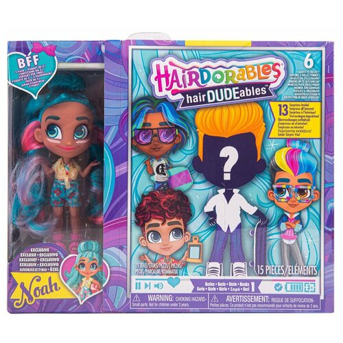 Кукла Hairdorables DUDEables Collectible Dolls - Series 1