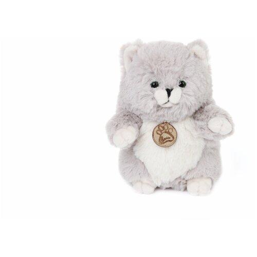 Мягкая игрушка Толстый кот 39см серый