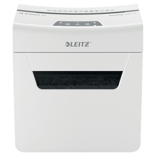 Уничтожитель бумаги (шредер) Leitz IQ Protect Premium 6X (80900000)