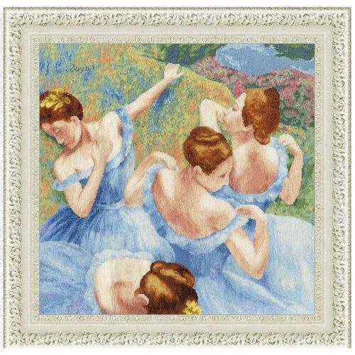Набор для вышивания «Золотое Руно» МК-050 Голубые танцовщицы
