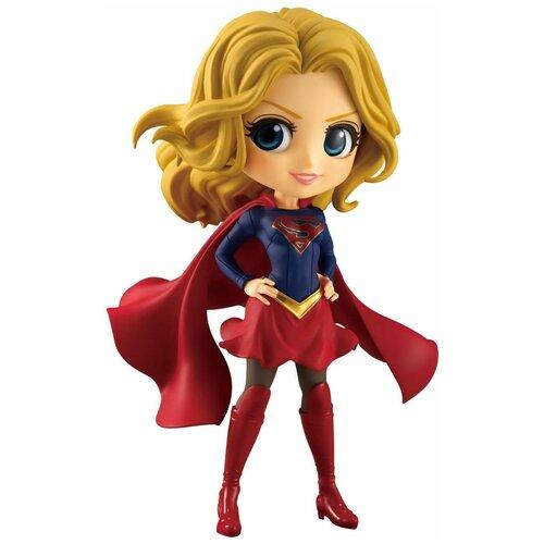 Фигурка Banpresto Q Posket DC Comics: Комиксы ДиСи (DC Comics) Супергёрл (Нормальный Цвет) (Supergirl (A Normal color)) (82752) 14 см