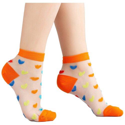 Носки Giulia размер 27-29, orange  - купить со скидкой