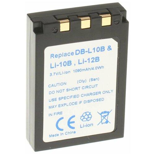 Фото - Аккумулятор iBatt iB-B1-F203 1090mAh для Olympus, Sanyo Li-10B, Li-12B, Li-10C, DB-L10A, аккумулятор vbparts li 10b 3 7v 1200mah 077153 для olympus camedia c 50