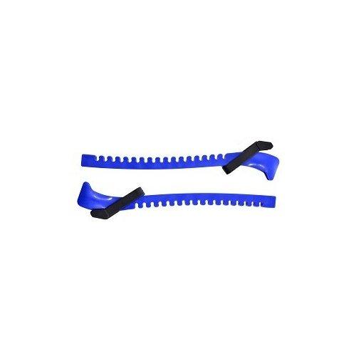 Чехлы для коньков пластиковые Mad Guy (размер Стандартный, цвет Синий)