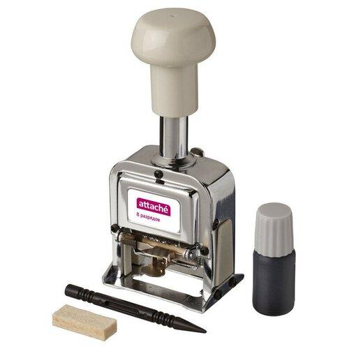 Нумератор автоматический Attache 8-и разрядный 4,8мм.