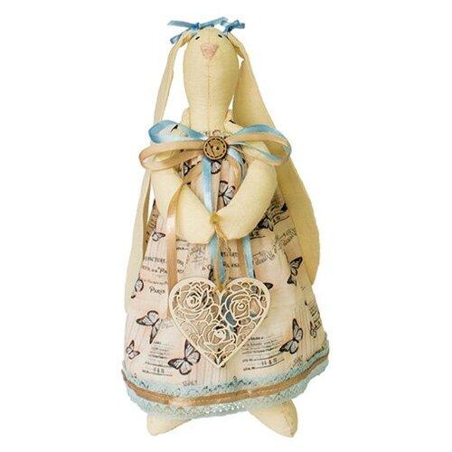 AM100029 Набор для изготовления текстильной игрушки 'Зайка Анжелика', высота 29 см