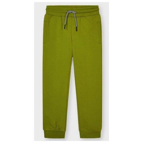 Спортивные брюки Mayoral размер 4(104), зелeный