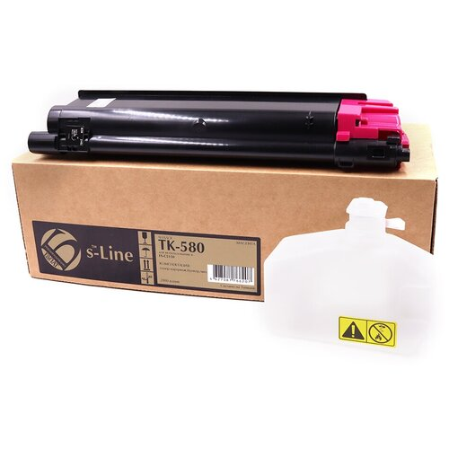 Фото - Тонер-картридж булат s-Line TK-580M для Kyocera FS-C5150dn (Пурпурный, 2800 стр.) тонер картридж булат s line tk 475 для kyocera fs 6025mfp чёрный 15000 стр