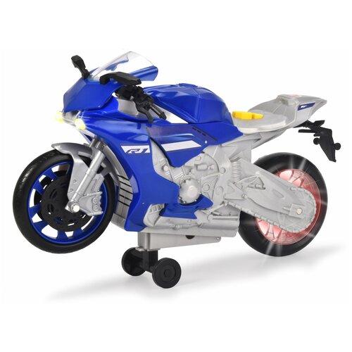 трансформер трейлер dickie optimusprime свет звук Мотоцикл Yamaha R1 26 см свет звук Dickie Toys