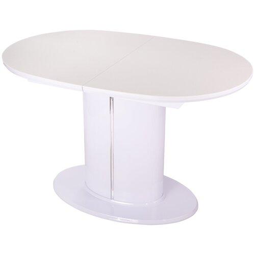 Стол кухонный раздвижной Румба О-1 КМ 04 БГ 06-1 БГ 120(160)см х 80см х 75